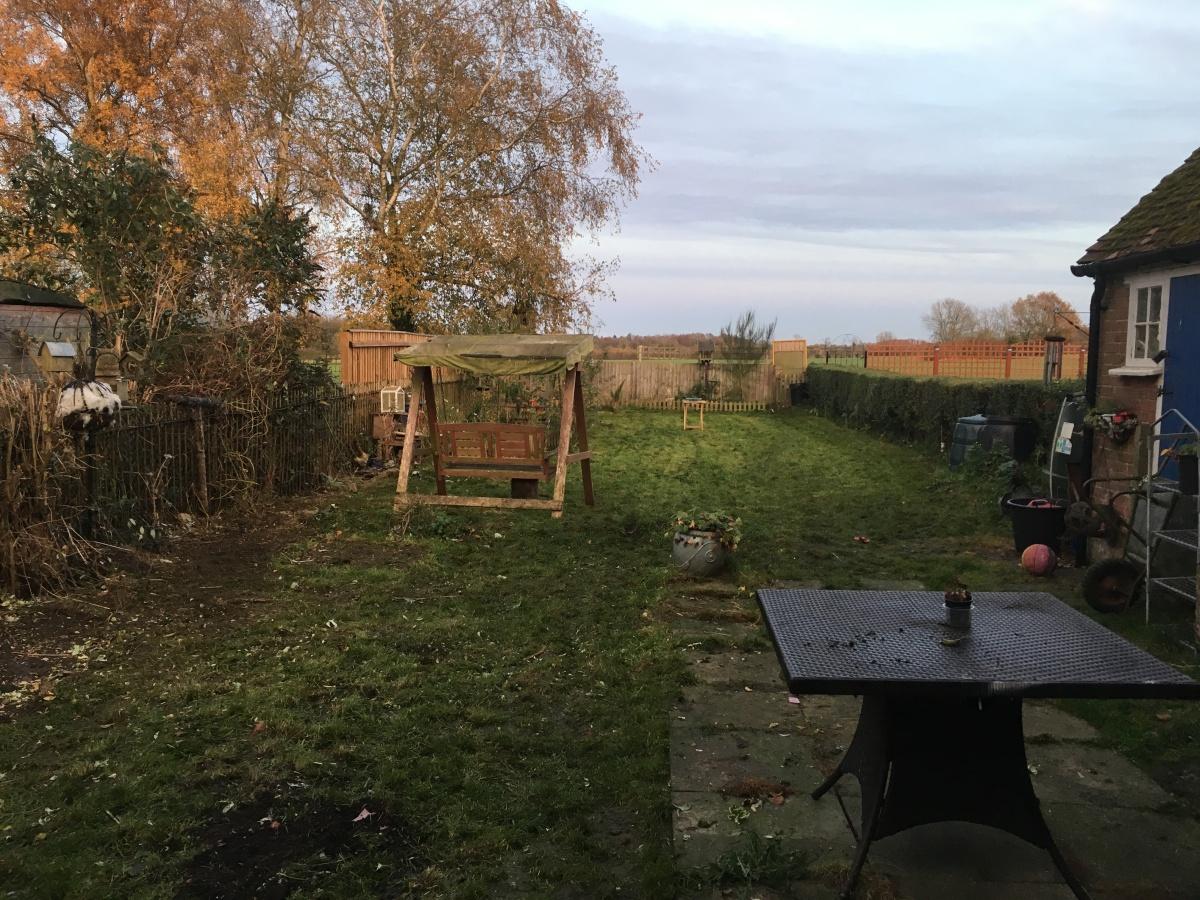 Still very tired but grateful the back garden and front grass got mowedyesterday